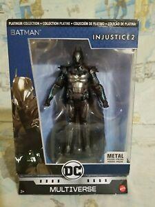 Batman Injustice 2 DC Multiverse Platinum Collection Metal by Mattel 2017 NIB