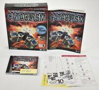 Homeworld Cataclysm BIG BOX manual cd key PC Game WIndows ME, 2k, 98, 95, NT