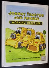 Vintage 1998 Johnny Tractor And Friends Working Together by John Deere