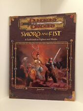 Sword and Fist, Softcover, Dungeons & Dragons 3.0/3.5 (D&D), RPG