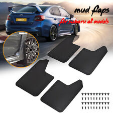 4x Mud Flaps Mudflaps For Subaru Legacy Impreza WRX STI Mudguards Splash Guards