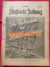 BERLINER ILLUSTRIRTE ZEITUNG 1923 Nr. 4: Frz. Truppen in Dortmund/Wolkenkratzer