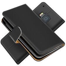 Handy Hülle für HTC One M9 Schutz Klapp Etui Booklet Flip Cover PU Leder Tasche