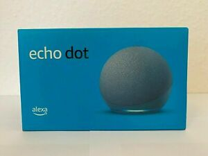 Amazon Echo Dot (4. Gen) Smart Lautsprecher - NEU Farbe Blaugrau