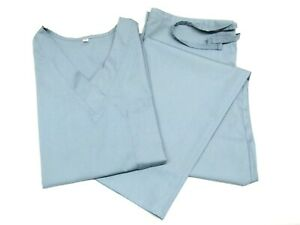 Unisex Womens/Men Medical Scrub V-Neck Top & Pant