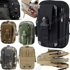 Military Army Style Sport Bag Case Belt Loop Hook Purse Pouch For iPhone 7, 6s 6