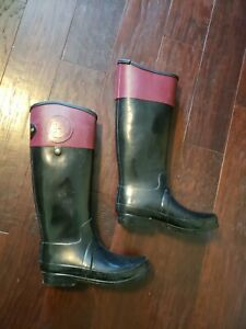 Hunter Women's Regent Carlyle Boots. W24144. US Size 8 / UK 6 / EU 39