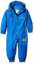Cappotti e giacche impermeabili blu casual per bambini dai 2 ai 16 anni