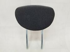NISSAN MICRA K12 MK3 02-10 5DR REAR LEFT RIGHT CENTRE HEADREST CLOTH BLACK GREY