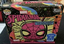 Funko Marvel Spiderman Blacklight Target Exclusive Empty Box Only