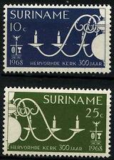 Suriname 1968 SG#633-4 Reformed Church Paramaribo MNH Set #D34439