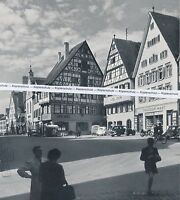 Riedlingen an der Donau - Apotheke Marktplatz - um 1950 - selten  N 13-13