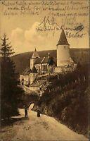 Křivoklát Tschechien Česká AK ~1910 Burg Pürglitz Hrad Festung Schloss Bauwerk