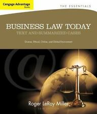 Business Law Today : Text and Summarized Cases by Gaylord A. Jentz and Roger LeR