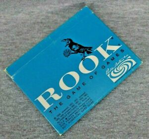 Rook The Game Of Games Complete Parker Brothers Blue Box 1963