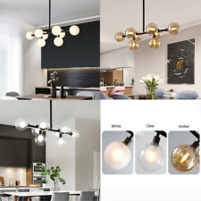 Kitchen Chandelier Lighting Glass Pendant Light Modern Ceiling Lights Lobby Lamp