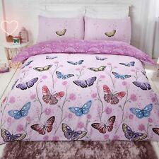 Dreamscene Butterfly Heaven Duvet Cover with Pillowcase Reversible Bedding Set