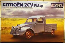 195x Citroen 2 CV Pickup (Fourgonette), 1:24, Ebbro 25004