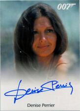 James Bond Archives 2017 Final Autograph Card Denise Perrier as Marie