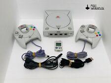 Sega Dreamcast Console Bundle OEM Controller VMU Clean & Tested - FREE SHIPPING