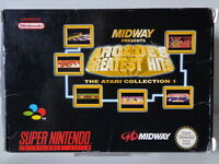 SNES Spiel - Midway Arcade´s Greatest Hits (mit OVP) (PAL) 10632758