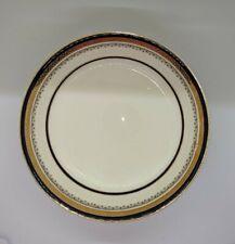 "8.5 inch Serving Dish, Cobalt, ""The Crowning,"" Myott Staffordshire"