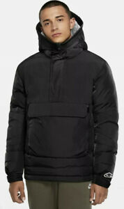Nike Sportswear NSW Repel Anorak Synthetic-Fill Jacket CU4420-010  Men's Medium
