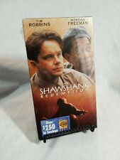 The Shawshank Redemption (VHS, 1995) Tim Robbins, Morgan Freeman Brand NEW