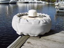 """Soft Fabric Cover for Astro Nautics Dock Wheel 10"""" x 2"""" Protect Your Boat Hull"""
