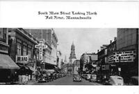 FALL RIVER, MA  4x6 Photo of South Main Street Looking North.  VERY LIMITED