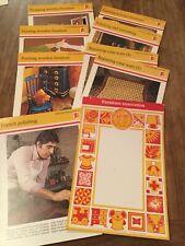 Set Of 8 Odhams 1978 Hamlyn Handicrafts Cards