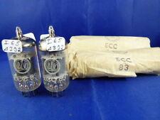 Matched pair ecc83 Valvo # NOS/NIB # Same PROD. codice-i65/δ3j2 # 1963 (7727)