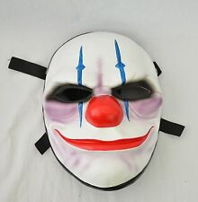 Resin Replica Payday 2 Chains Mask With Stripe Halloween PROP Cosplay clown