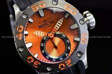 Invicta Men 52MM Russian Diver Scuba Silicone Bright Orange 500M Diver Watch
