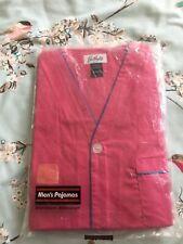 Bullocks Mens Pyjamas BNWT Size L LARGE PINK (SHORT SLEEVE) (BOTTOMS ARE SHORTS