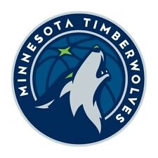Minnesota Timberwolves Round  Precision Cut Decal / Sticker