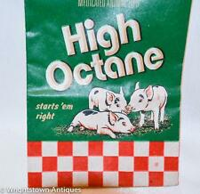 Vintage PURINA Baby PIG CHOW SAMPLE BAG Advertising High Octane PIGLETS