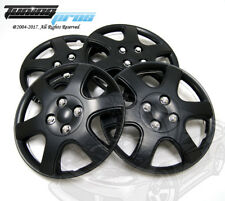 "4pcs Qty 4 Wheel Cover Rim Skin Cover 14"" Inch, Style 888 14"" Hubcap Matte Black"
