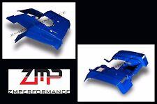NEW HONDA TRX 350 4X4 86 - 89 PLASTIC DARK BLUE FRONT AND REAR FENDER SET TRX350