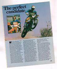 Old PIERRE KARSMAKERS MOTORCYCLE Racing Article/Photo's