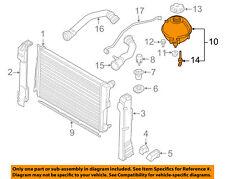 BMW OEM 14-16 X3-Radiator Coolant Overflow Tank Recovery Bottle 17138616418