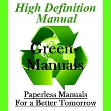 HIGH DEF 09-14 Kawasaki Gas Mule 4000 4010 2x4 / 4x4 Repair & Maintenance Manual