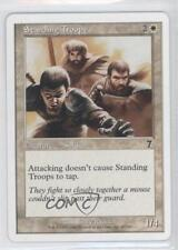 2001 Magic: The Gathering - Core Set: 7th Edition #48 Standing Troops Card 0a0