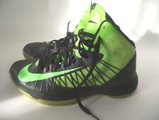 Nike Hyperdunk Signed Basketball Sneakers Shoes Green Black Mens Size 10.5