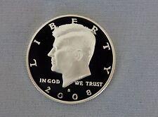 2008-S Kennedy Silver Proof Half Dollar Gem Cameo!!