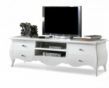 Port TV Glossy White, Wooden Of Poplar, High Quality'