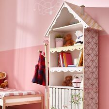 Fantasy Fields Childrens Pink Wooden Bookcase Book Shelf Tidy Storage W-6927A