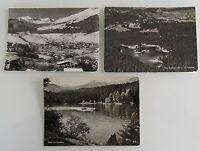 Postkarten Lot Schweiz 3x FILMS Dorf Waldhaus s/w AK ab/nach 1947 Ansichtskarten