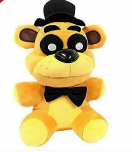 FNAF Five Nights at Freddy's Collector Golden Freddy Doll Plush Toys 18CM S99