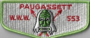 OA Paugassett Lodge 553  Flap LGR Bdr. [MX-7852]